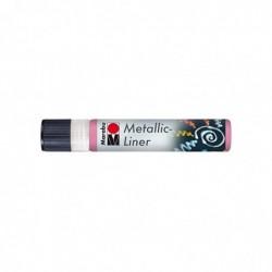 "MARABU Marqueur ""Metallic-Liner"" 25 ml Rose métallique"