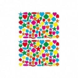 MAILDOR Géométriques, Sach 20 Planches Sticker 16x21cm Décors