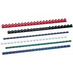 GBC Lot de 100 CombBind Peignes de reliure bleu 16 mm