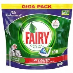 FAIRY P&G Professional Pack 100 Tablettes pour lave-vaisselle 3 en 1