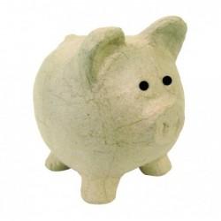 DÉCOPATCH Tirelire cochon à décorer 12x12x12 cm