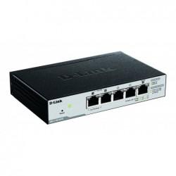 D-LINK Switch Easy Smart Managé 5 ports Gigabit avec POE