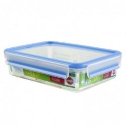 EMSA Boîte alimentaire hermétique CLIP  & CLOSE, 1,2 litre (L)167 x (P)226 x (H)59 mm