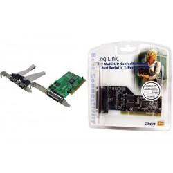 LOGILINK carte PCI 16C550 1284 série/parallèle