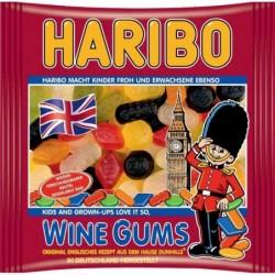 HARIBO Sachet de 500 g bonbons gélifiés aux fruits WINE GUMS