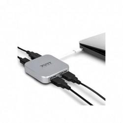 PORT DESIGNS Hub USB 4 ports
