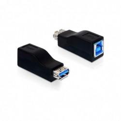 KONNI Adaptateur USB 3.0 B Femelle / A Femelle