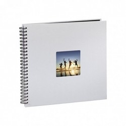 HAMA Album Photo Spirale FineArt 36 x 32 cm 50 Pages Gris