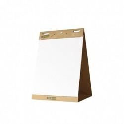 BI-SILQUE Tableau de conference portable 20 feuilles 59x51 cm Repositionnables recyclées