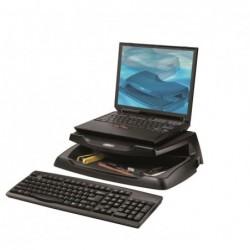 """AIDATA Support moniteur ou PC portable jusqu'à 17"""" avec rangements"""