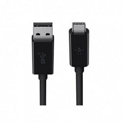 BELKIN Câble de charge et synchronisation USB- C 3.1 vers USB-A - 0,9m - Noir
