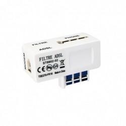 HAMA Filtre ADSL pour connexion modem ADSL/téléphone Beige