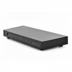 DIGITUS Splitter Répartiteur HDMI Métal 8 ports 1080p. 3D Noir