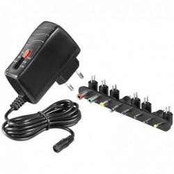 GOOBAY Adaptateur 3-7 V Universel Avec 8 Embouts DC Noir max. 17,5 W