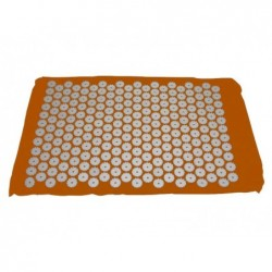 Tapis d'acupression Shanti 65 x 41 cm Orange