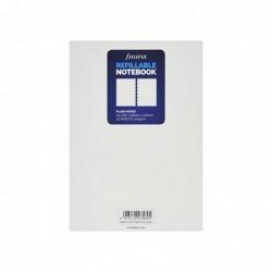 FILOFAX Recharge pour carnet de notes rechargeable format A5, unie, Blanc