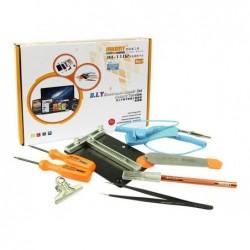 JAKEMY Kit de réparation électronique 9 en1  PHONE JM-1102 D.I.Y Version Luxe