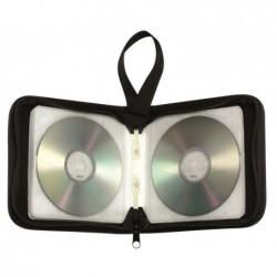 WAYTEX Pochette CD transport zippée 40 CD
