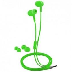 LOGILINK Ecouteurs In-Ear, imperméable, vert néon