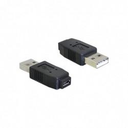 DELOCK USB micro-A+B F to...