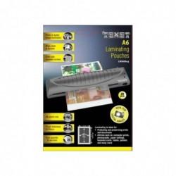 TEXET Boite de 25 Feuilles de plastification A6 150 micron (2x75)