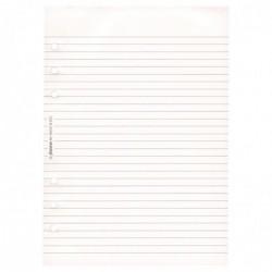 FILOFAX Recharge format A5 bloc-notes ligné Blanc