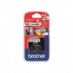 BROTHER Ruban noir/blanc...
