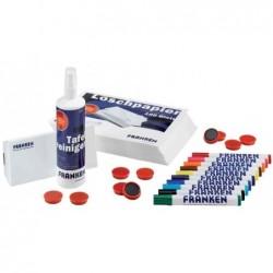 FRANKEN Kit de démarrage pour tableau blanc, magnétique de planification