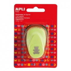 APLI Perforatrice de forme créative Ours  16 mm