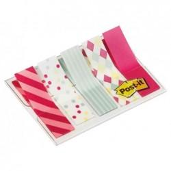POST-IT Distributeur de 100 Marque-pages Index mini 11,9 x 43,2 mm Candy