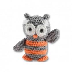 """FOLIA mini kit de crochet """"Hibou"""""""