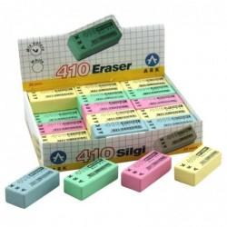 ARK Gomme rectangulaire 40x18x12mm sans PVC multicouleurs stand 30 pièces