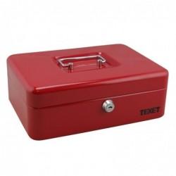 WEDO Caissette à monnaie 6 compartiments 250x180x90mm rouge
