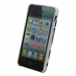 WAYTEX Coque Vache pour iPhone 4/4S - Blister Waytex