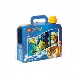 LEGO Kit Chima (2 pces) pour enfant Boite repas et Gourde 350 ml