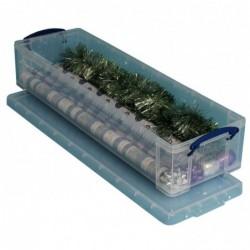 REALLY USE BOX Boîte de rangement en plastique 22 litres