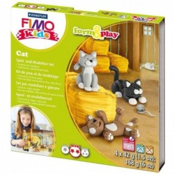 """FIMO kids kit de modelage Form & Play """"Cat"""", niveau 2"""