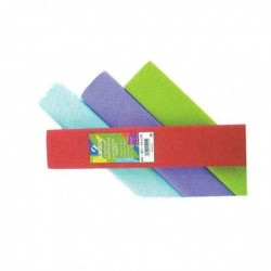 CANSON Lot de 10 rouleaux de papier crêpe, 40 g/qm,couleur: saumon 0,5 x 2,5 m