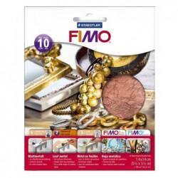 FIMO Pqt de 10 Feuilles...