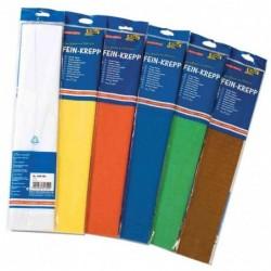 FOLIA Papier crépon, (l)500 mm x (L)2,5 m, jaune