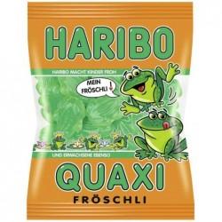 HARIBO Sachet de 200g de Bonbons Gélifiés QUAXI Grenouille Verte