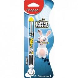 MAPED stylo à plume LAPINS CRÉTINS, pour droitier
