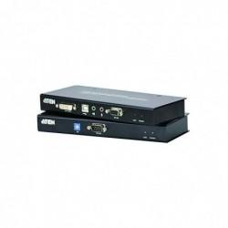 ATEN Prolongateur CE600 DVI/USB/audio Single Link 60m