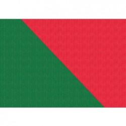 """SUSY CARD Weihnachts-Geschenkpapier """"grün/rot"""", Rolle"""
