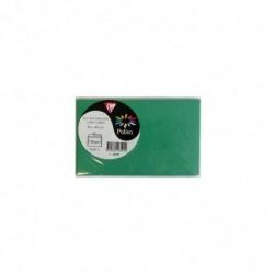 POLLEN Sachet de 5 enveloppes Pollen 90x140 vert sapin