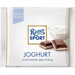 RITTER SPORT Tablette Chocolat Yaourt 100 g