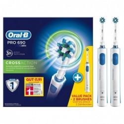BRAUN Duo Pack Oral-B PRO 690 Brosse à Dent Electrique