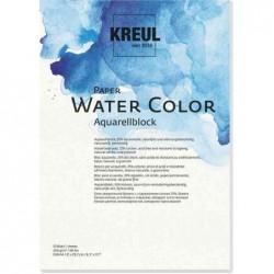 KREUL Bloc pour artistes Paper Water Color, A4, 10 feuilles