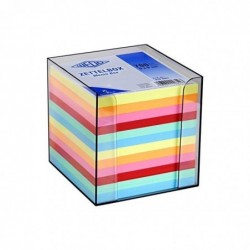 WEDO Support bloc-notes plastique 700 Feuilles 90x90 mm Transparent fumé,