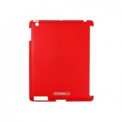 COOL BANANAS Coque de protection SmartShell pour iPad en silicone (Rouge)